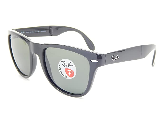 Amazon.com: Ray Ban Folding Wayfarer Rb4105 601/58 Negro ...