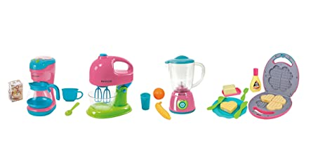 Merveilleux My First Kenmore Pretend Kitchen Appliances Pink And Blue Coffee Maker,  Mixer, Blender,