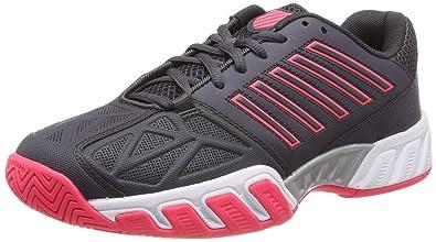 K-Swiss Bigshot Light 3 Womens Tennis Shoe (Magnet Neon Pink White f27187f4e60