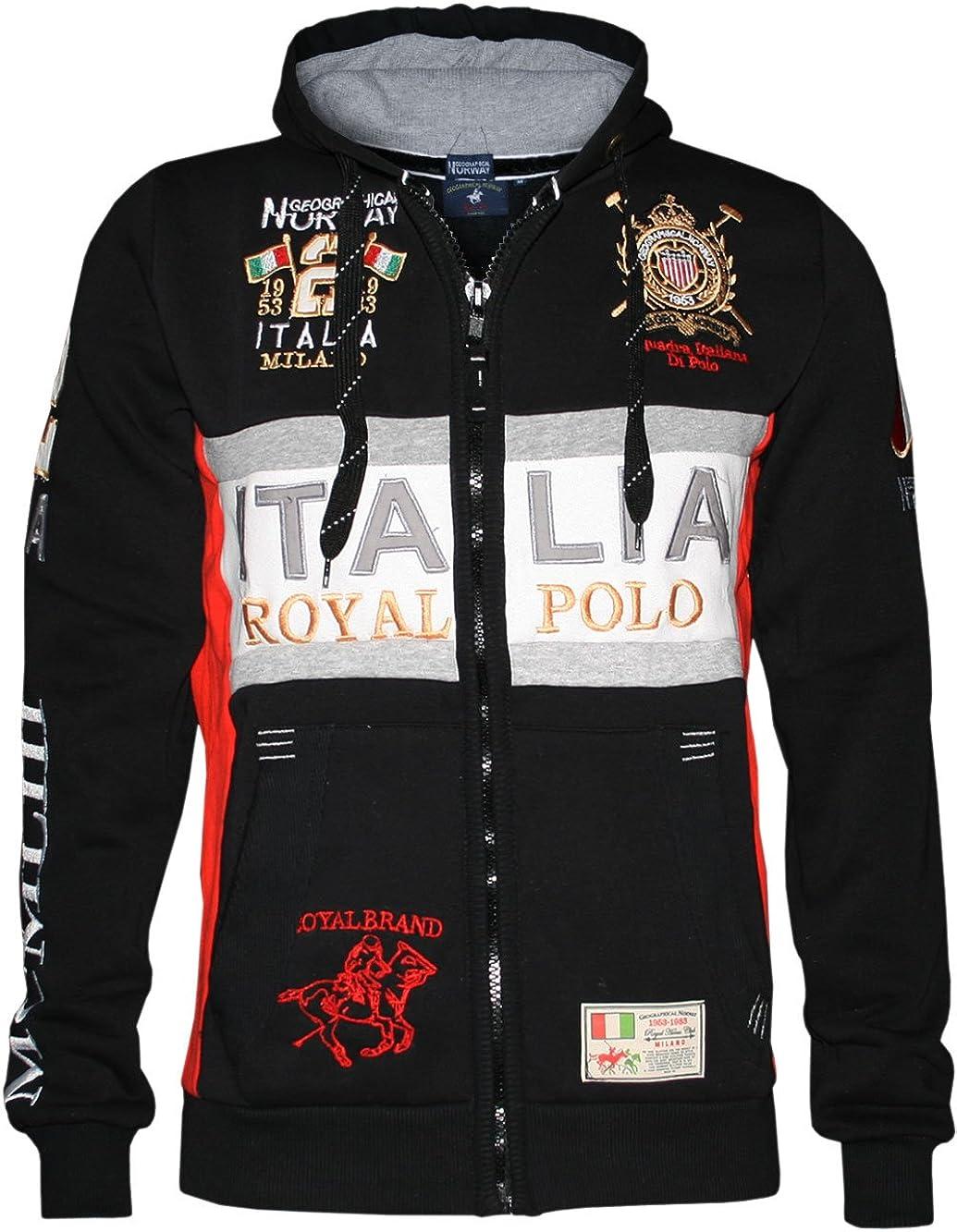 Jersey Sweatshirt mit Kapuze Geographical Norway Gourmand Mann Männer SQ506H//G