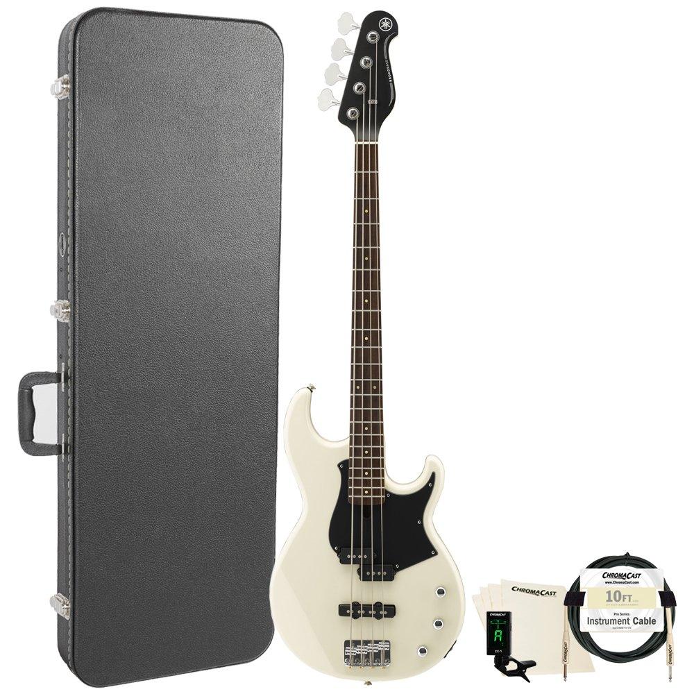 Yamaha 4 String Bass Guitar, Right Handed, Vintage White (BB234VW-KIT-1)