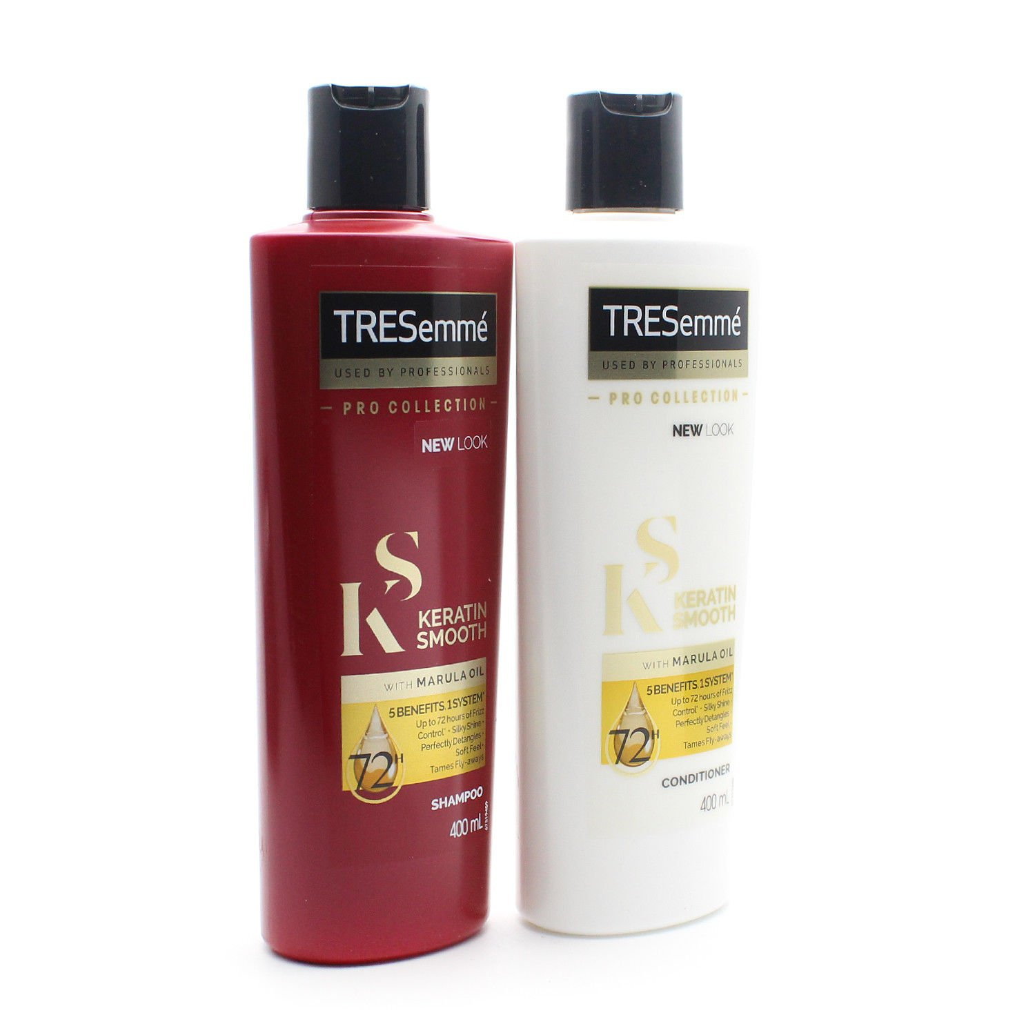 Tresemme Keratin Smooth Pro Collection Shampoo and Conditioner Set 2 x 400ml Unilever
