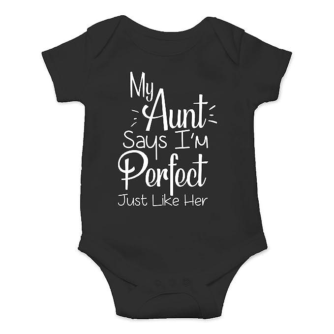 Amazon.com: Mi tía dice que soy perfecto como ella – Mono ...