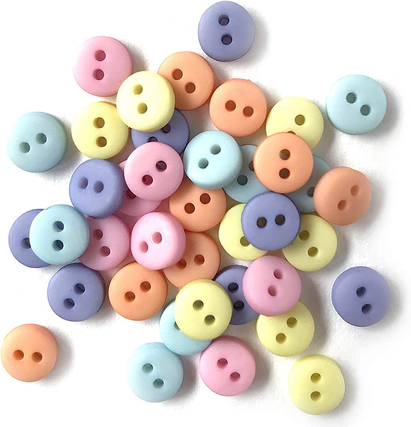 Tiny Micro Mini Hearts Sewing Buttons Craft Buttons Card Making Scrapbooking