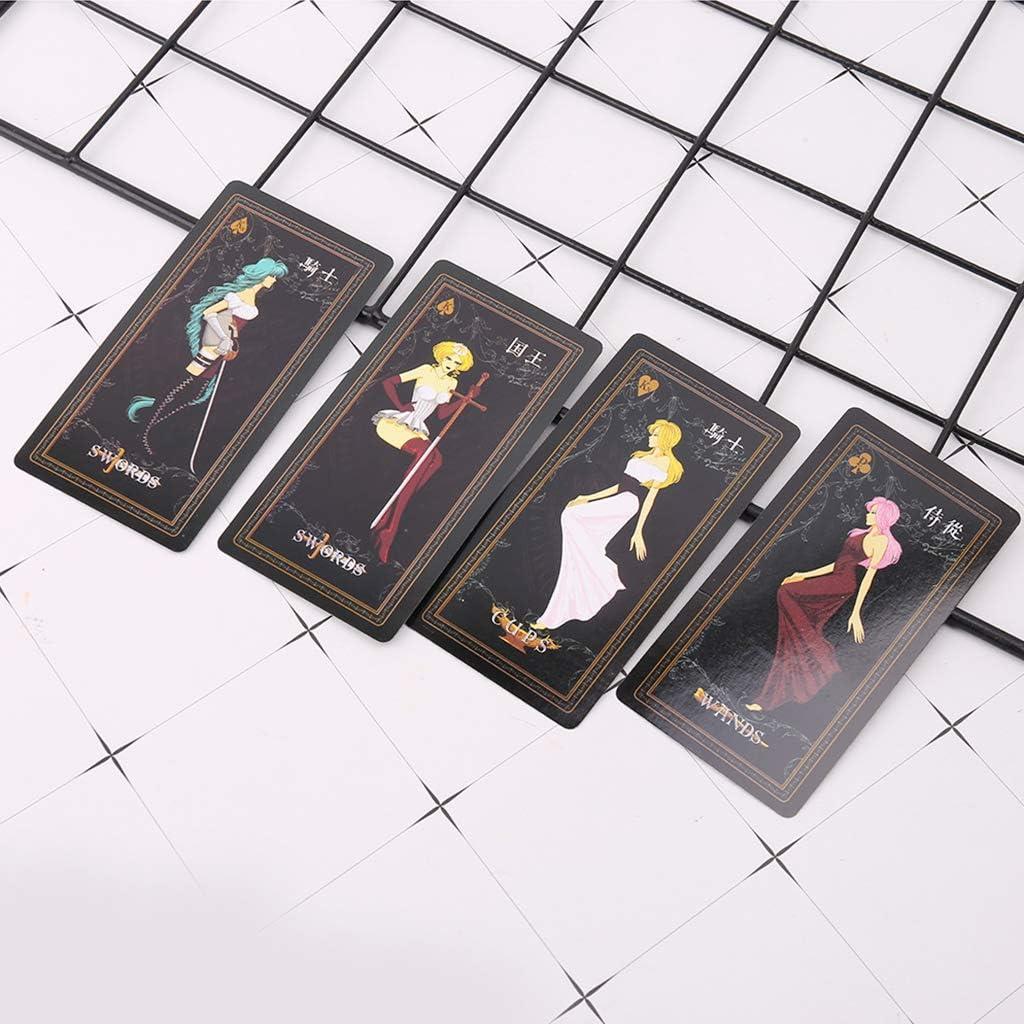 A Lamdoo Tarot Deck Fate Love Divina misteriosa Juego de Mesa de astrolog/ía Paety
