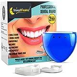 SleepDreamz Bite Dentale Notturno Automodellante! 2 Diversi Paradenti per digrignare i denti - Progettati per Prevenire Digrignamento dei Denti, Bruxismo, ATM/TMD, Russamento e apnea notturna.