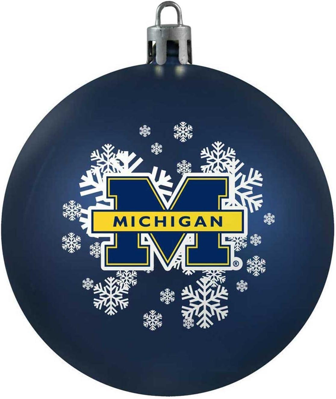 Topperscot by Boelter Brands NCAA Shatterproof Ball Ornament