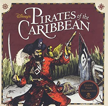 disney parks presents pirates of the caribbean purchase includes a cd with song