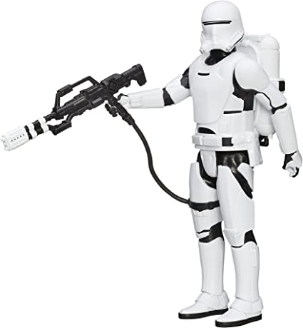 Star Wars The Force Awakens First Order Flametrooper Figure New!