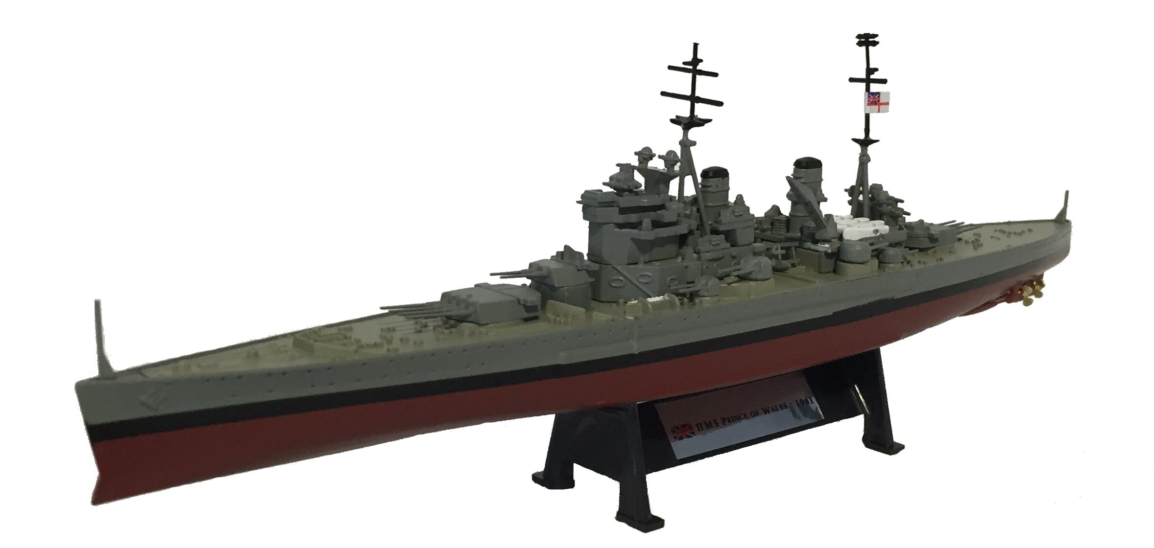 HMS Prince of Wales 1941 - 1:1000 Ship Model (Amercom ST-5) by HMS Prince of Wales - 1941