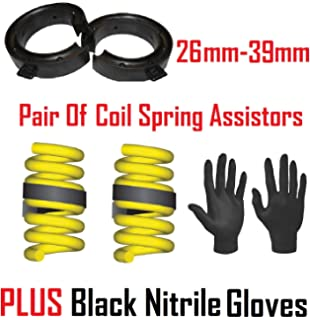 26-38mm Spring Assistors Gap Car Suspension Coil Heavy Duty Rubber Towing