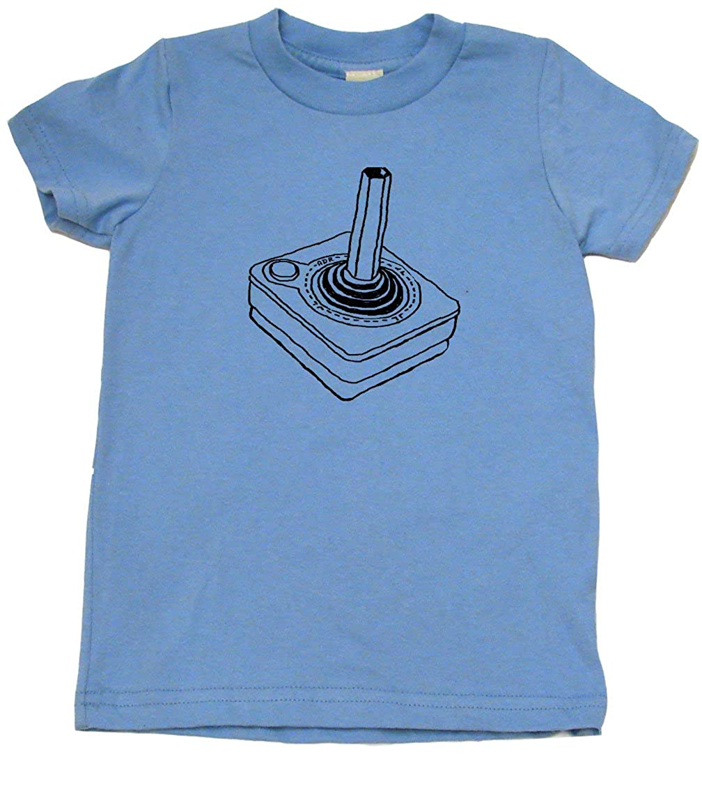 Baby Wit Old School Joystick Retro Toddler Clothes Boy Or Girl T-Shirt Cool Kid Gift