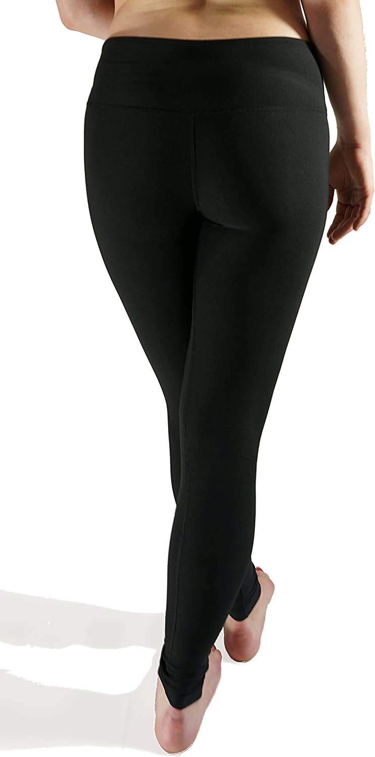 The Perfect Everyday Classic Tights for Athletic Girls and Women Taekwondo Black Legging