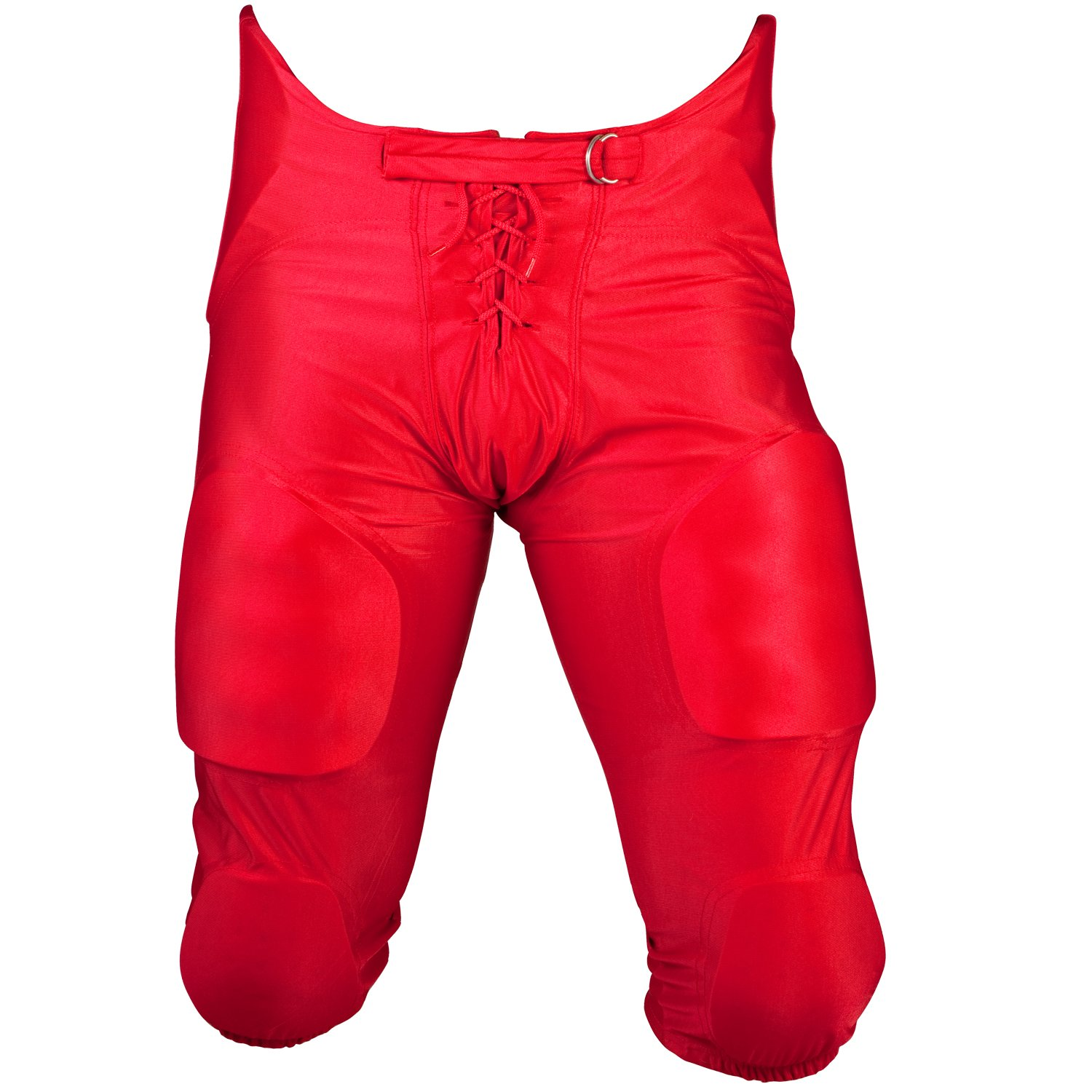 (Medium, Red) - Cramer Football Game Pants, 7 Pad, Adult and Youth Size, Assorted Colours B00LPABE18