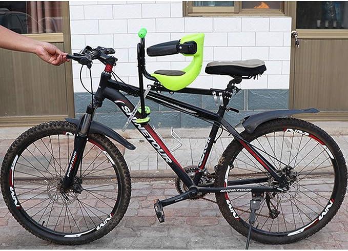 DHOUTDOORS - Asiento de bicicleta para niños con silla delantera ...