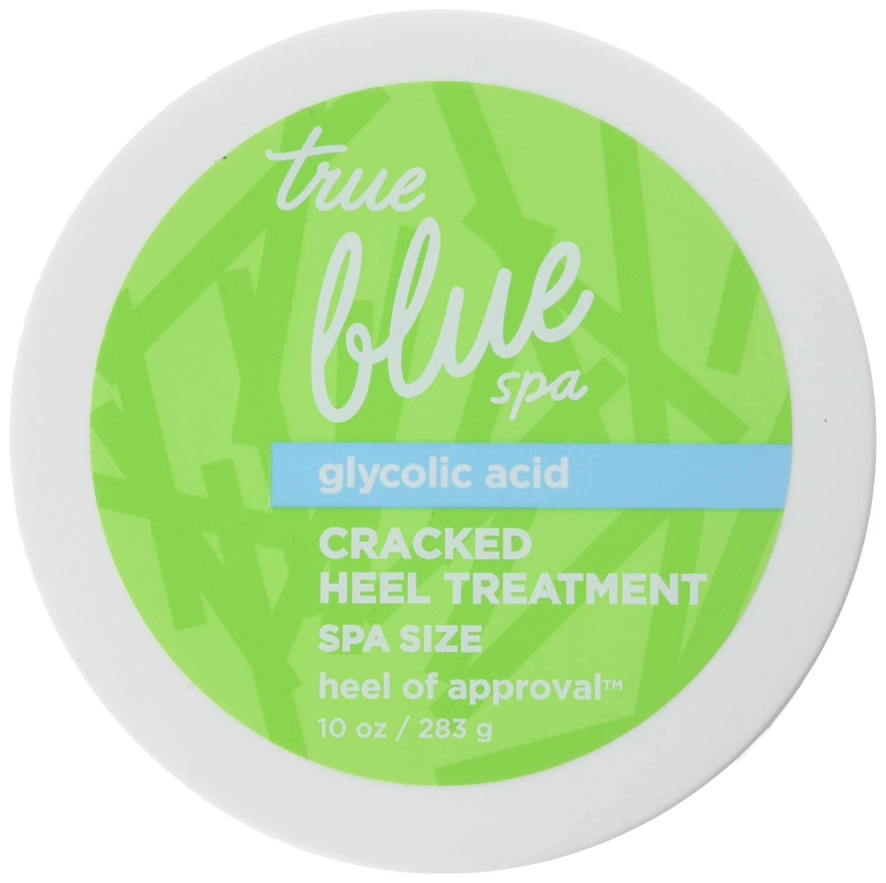 Bath and Body Works True Blue Spa Cracked Heel Treatment Spa Size Heel of Approval 10 Ounce Full Size by Bath & Body Works