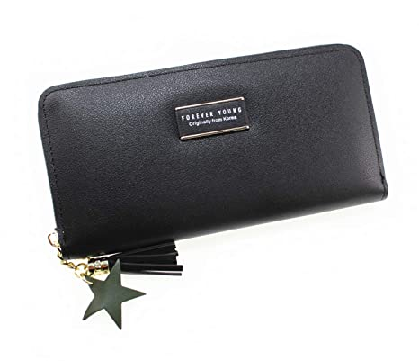 Black /& Pink Brand New Forever Young Carrken Wallet