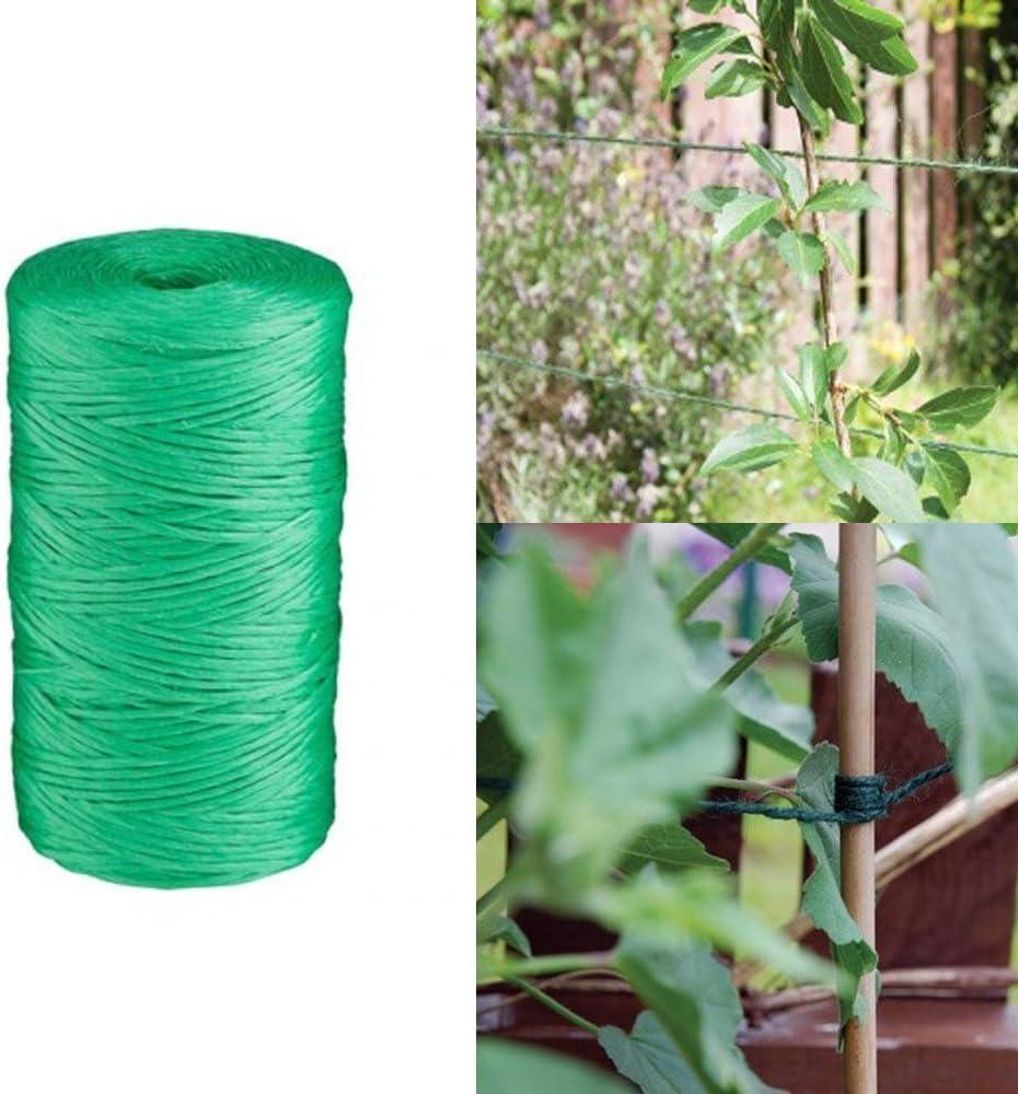 Verde – Rollo de cordel de yute 250 metros/820ft ovillo de cuerda ...