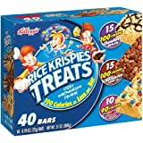 Rice Krispies Kellogg's Treats Variety Pack with Cocoa Krispies and M&ms, 40-count, 0.78 Ounce