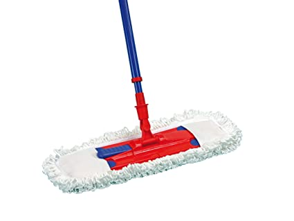 Brushmann Universal Microfibre Floor Mop Wet And Dry Mop For Tiles Wood Or Linoleum