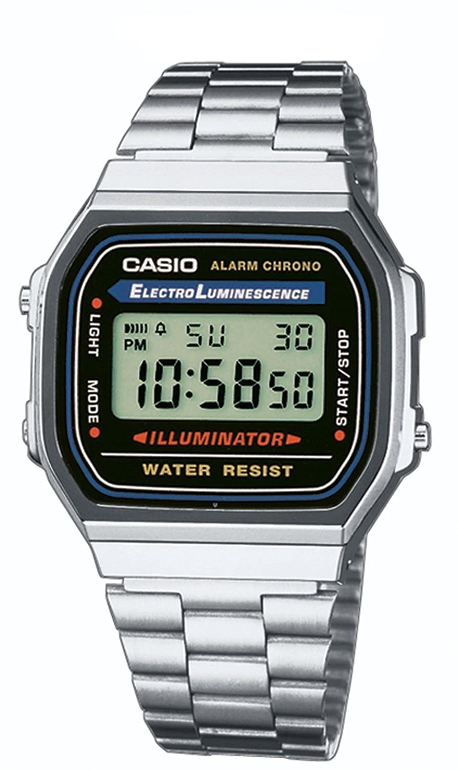 Casio Collection A168WA - Reloj Unisex para Adultos