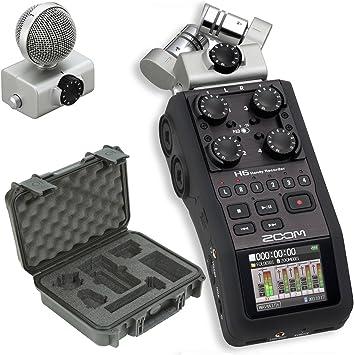 Amazon Com Zoom H6 Recorder Skb 3i 1209 4 H6b Waterproof