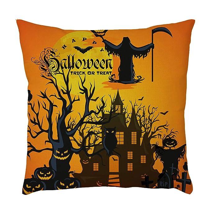 Funda Decorativa Para Cojín de Celebración Halloween Fundas ...