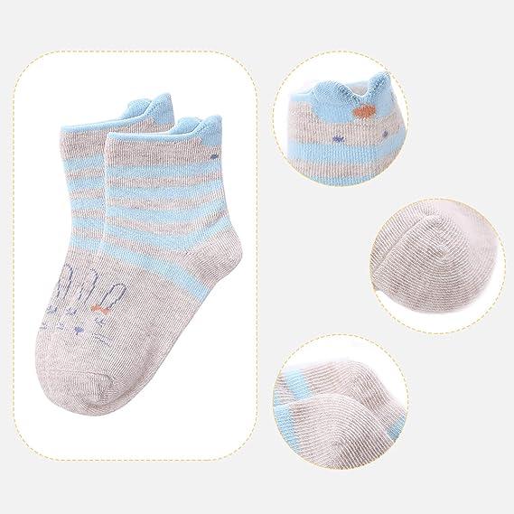 Lamdgbway 5 Pares Novedad Invierno Niñas Calcetines Cálido Niño Sin Costura Tripulación Calcetines: Amazon.es: Ropa y accesorios