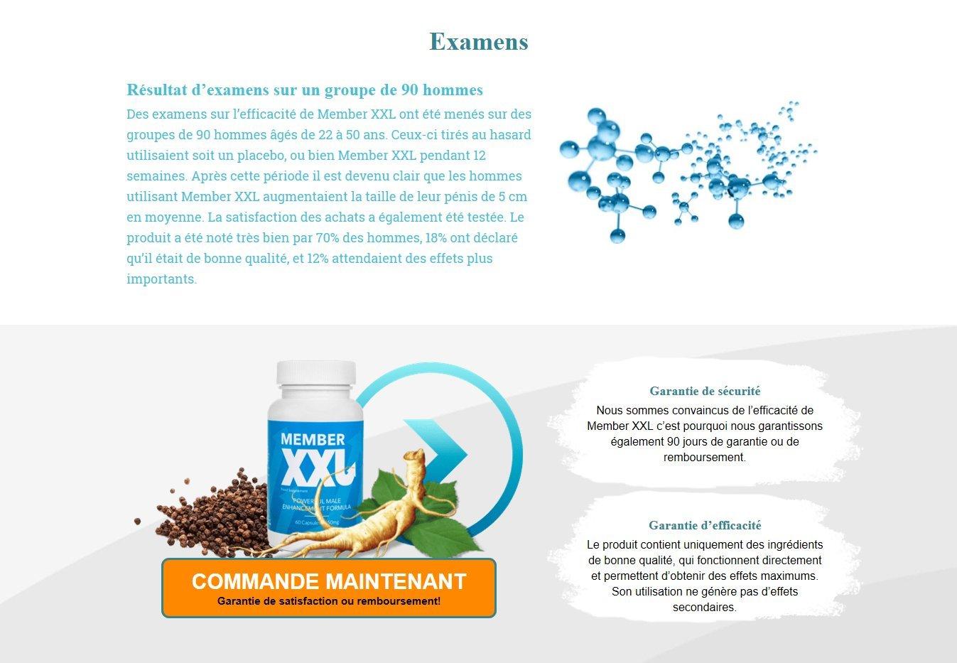 ✅ Member XXL Premium Potencia medicamentos y agrandissement ...