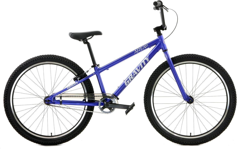 Desconocido Gravity Area 51 - Bicicleta BMX de Aluminio (Ruedas de ...