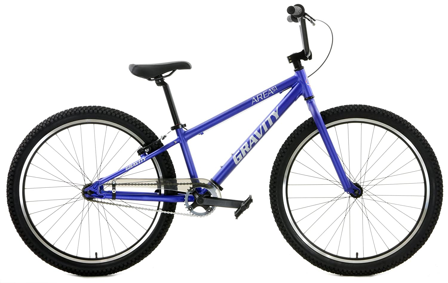 Gravity Area 51 Aluminum BMX Bike 26 inch Wheels