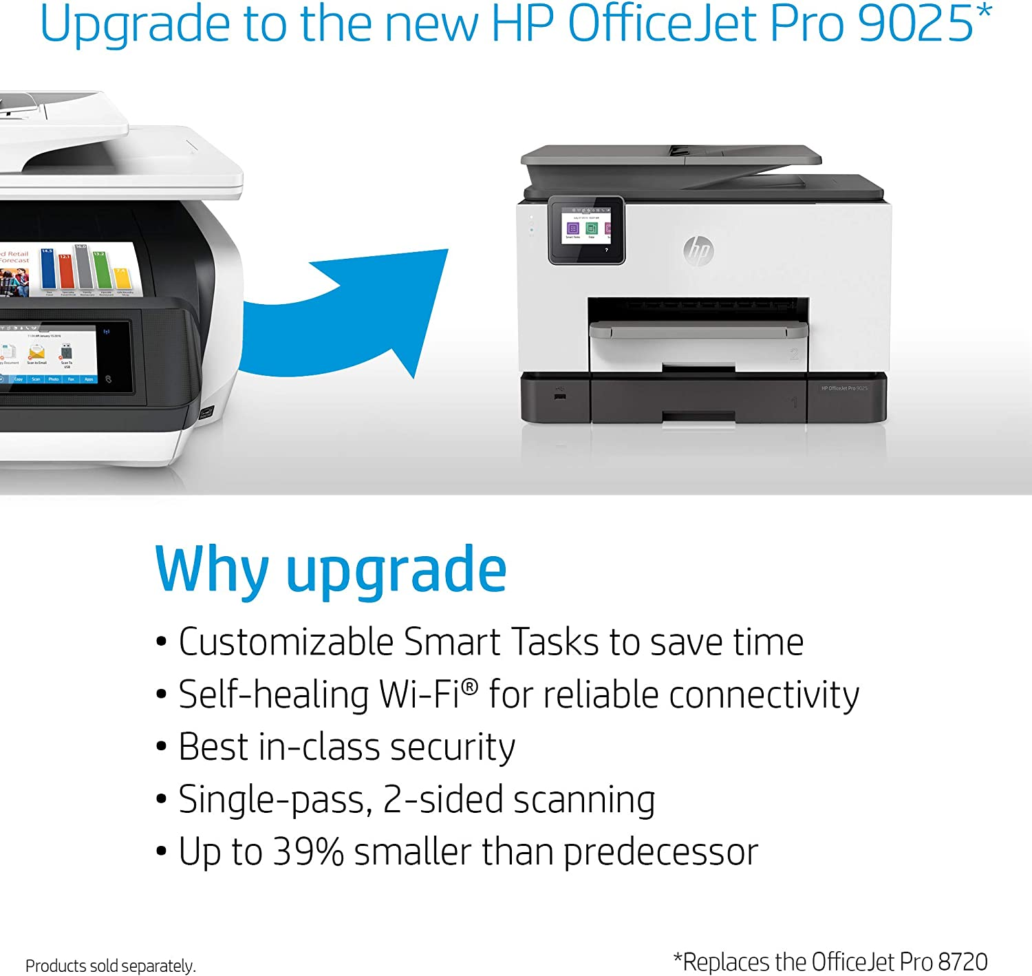 Amazon.com: HP OfficeJet Pro 8720 All-in-One Wireless Printer, HP ...