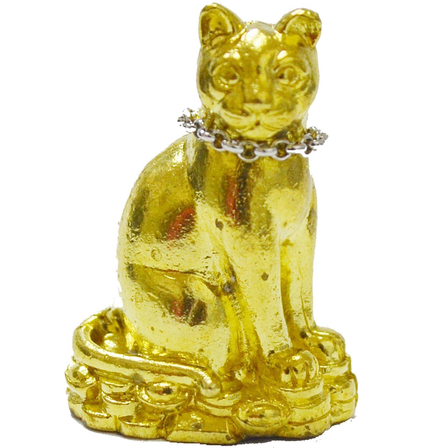 Luang Phuu Kaambuu Treasure Calling Cat Lucky Cat Magic Amulets Nong Maew Riak Sap