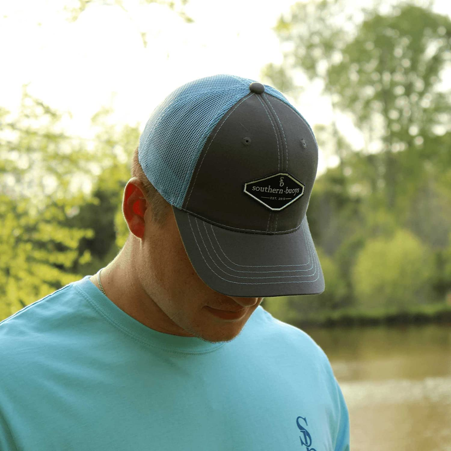Southern Buoys SB Badge Trucker Hat