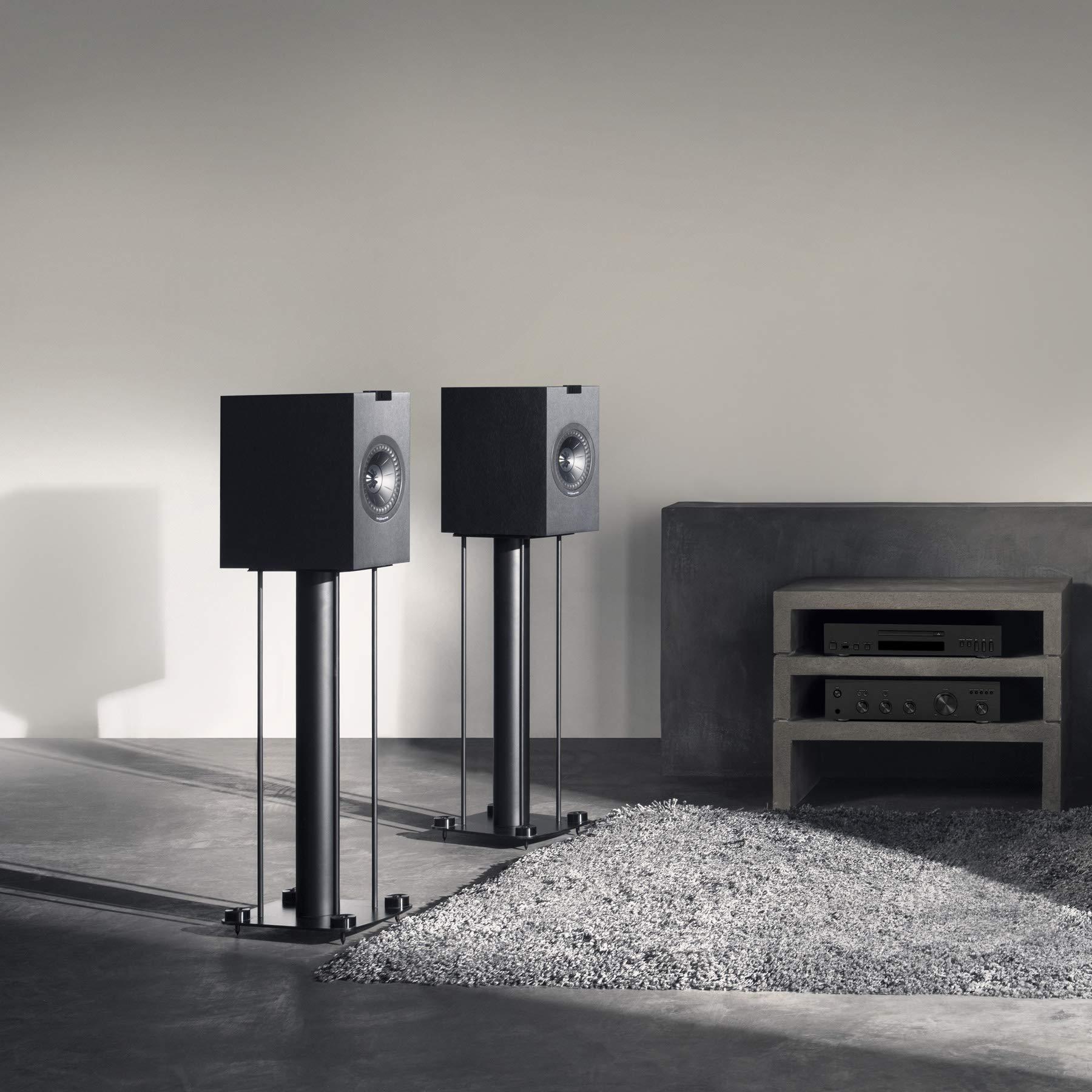 KEF Q150 Bookshelf Speakers (Pair, Black)
