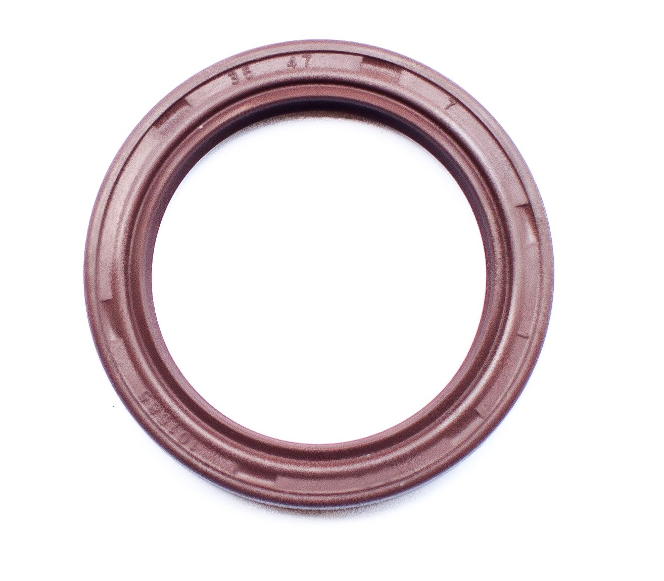 Oil Seal 35X47X7 (10 PCS) Viton Oil Seal Grease Seal TC |EAI Rubber Double Lip w/Garter Spring 35mmX47mmX7mm | 1.378''x1.850''x0.276''