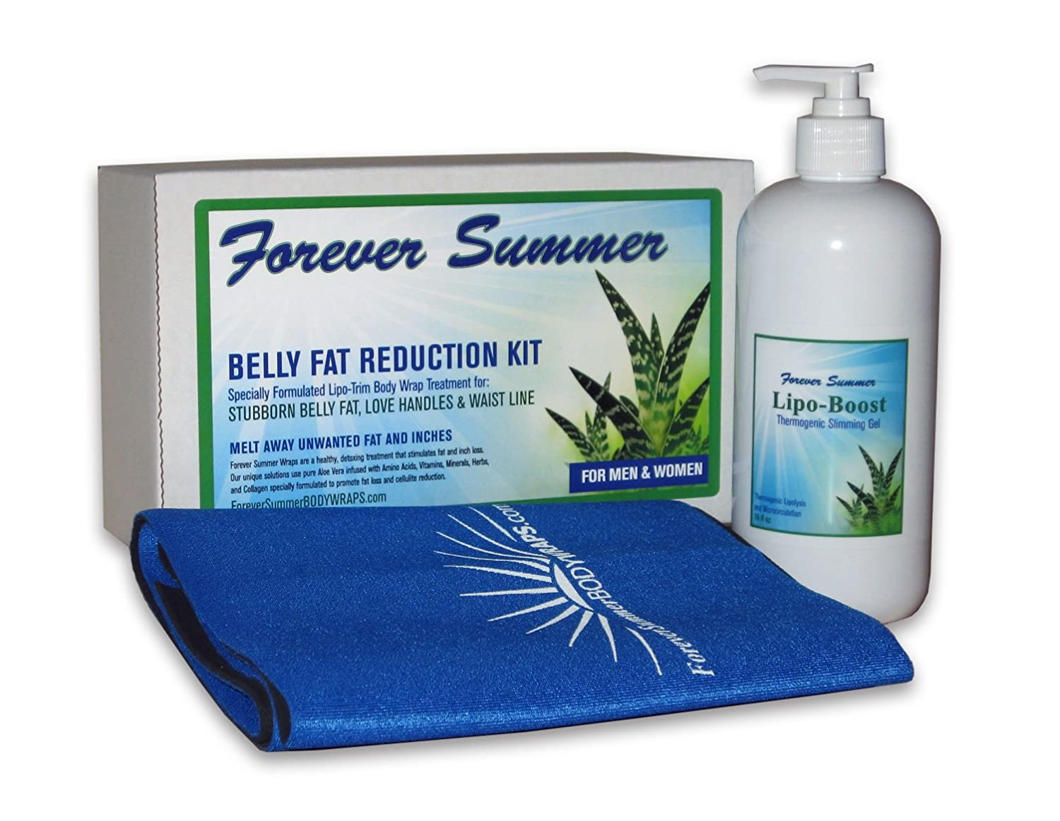 e16ef0cb324 Amazon.com  Belly Fat Reduction Weight Loss Body Wrap from Forever Summer.  Lose Weight