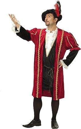 Renacimiento Príncipe Baron Barok disfraz para hombre de la Edad ...