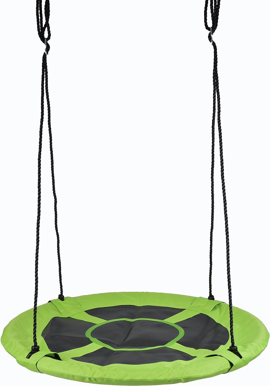 Ocean 5 Columpio Nido párajos - Birdy - de la Marca, 100 cm, para hasta 2 niños - Columpio de jardín XXL con Capacidad de Carga de hasta 150 kg, Columpio Infantil Regulable en Altura para Exteriores