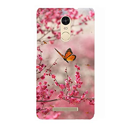 new products 8f74f 77131 Clapcart Butterfly Design Printed Mobile Back Cover for Xiaomi Redmi Note 3  -Multicolor