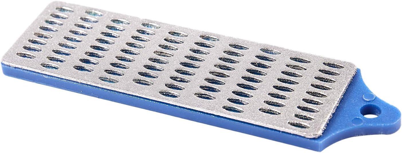 Nrpfell 3 Diamant-Abziehstein Messerschleifer Schleifstein Schaerfstein Wetzstein 75x25mm
