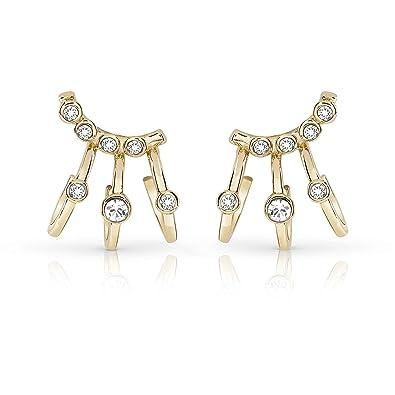 7996a1723 Guess Women's Jewellery Earrings Crystal Trendy Beauty Supply Cod.  ube84129: Amazon.co.uk: Jewellery