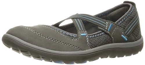 ed339d5d6417 Clarks Women s Aria Mary Jane Flat  Amazon.ca  Shoes   Handbags