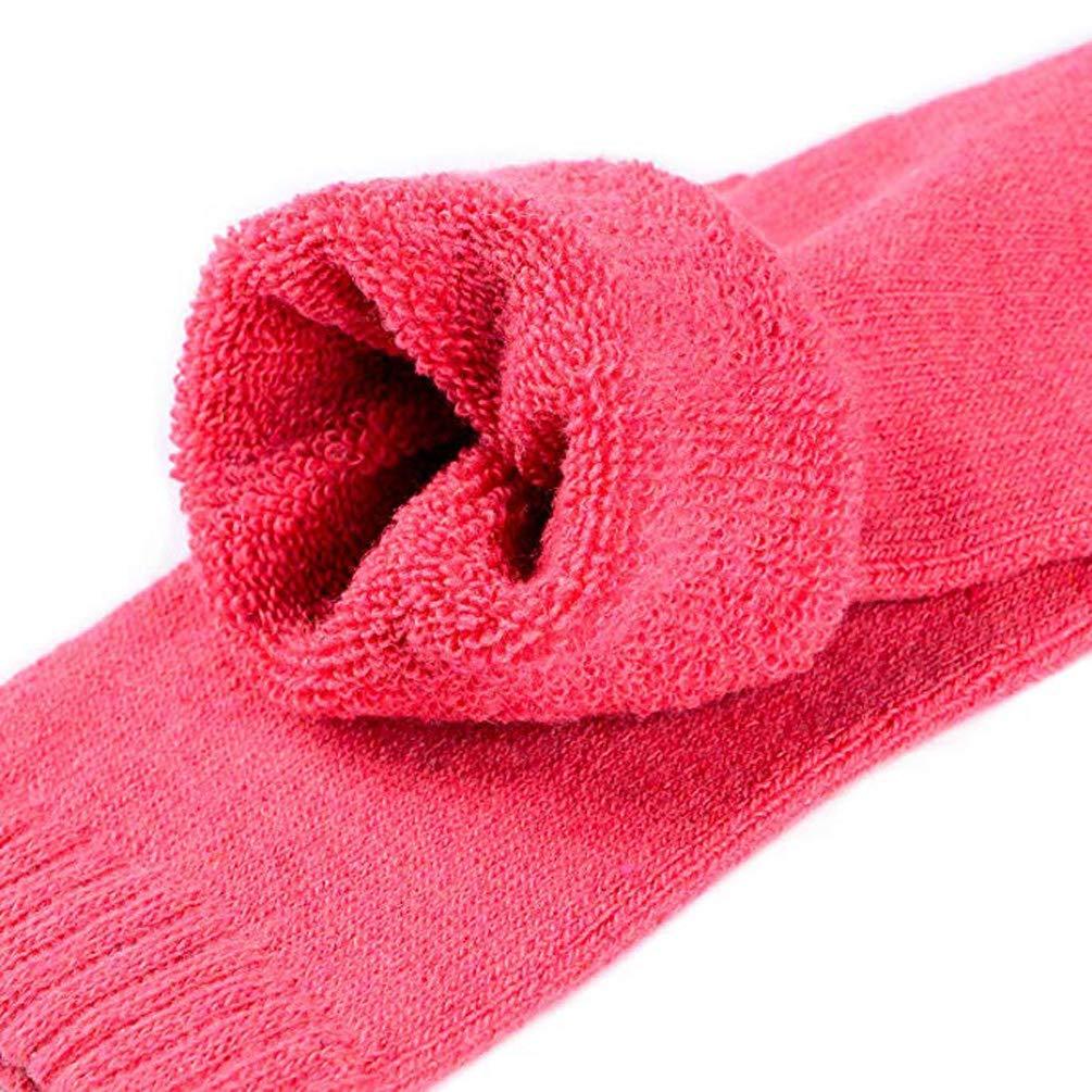 5 Paia Donna Calzini Lana Cachemire Caldo Puro Inverno Di Spessore Calzino