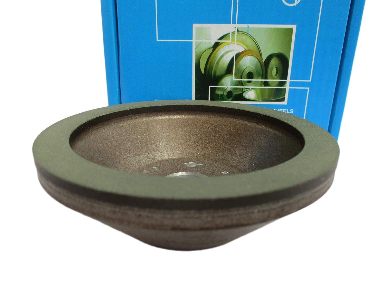 "Hole 0.79/"" Type 12A2-20 Dish Diamond Grinding Wheel 150 Grit 4 inch 100mm"