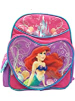 "Small Backpack - Disney - The Little Mermaid - Ariel V2 12"""