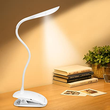 Usb Eye Protection Table Lamp Upgrade 30 Led Rechargeble Flexible 360 Degree Dimmable Touch Reading Light Study Lamps Convenience Goods Lights & Lighting