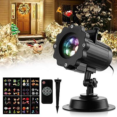 Christmas Projector Lights, Zanflare 16 Pattern...