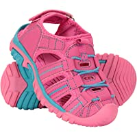Mountain Warehouse Bay Junior Shandals - Neoprene Shoes Sandals, Kids Beach Shoes, Cushioned Midsole Childrens Summer Shoes, Adjustable - for Poolside, Beach, Travelling