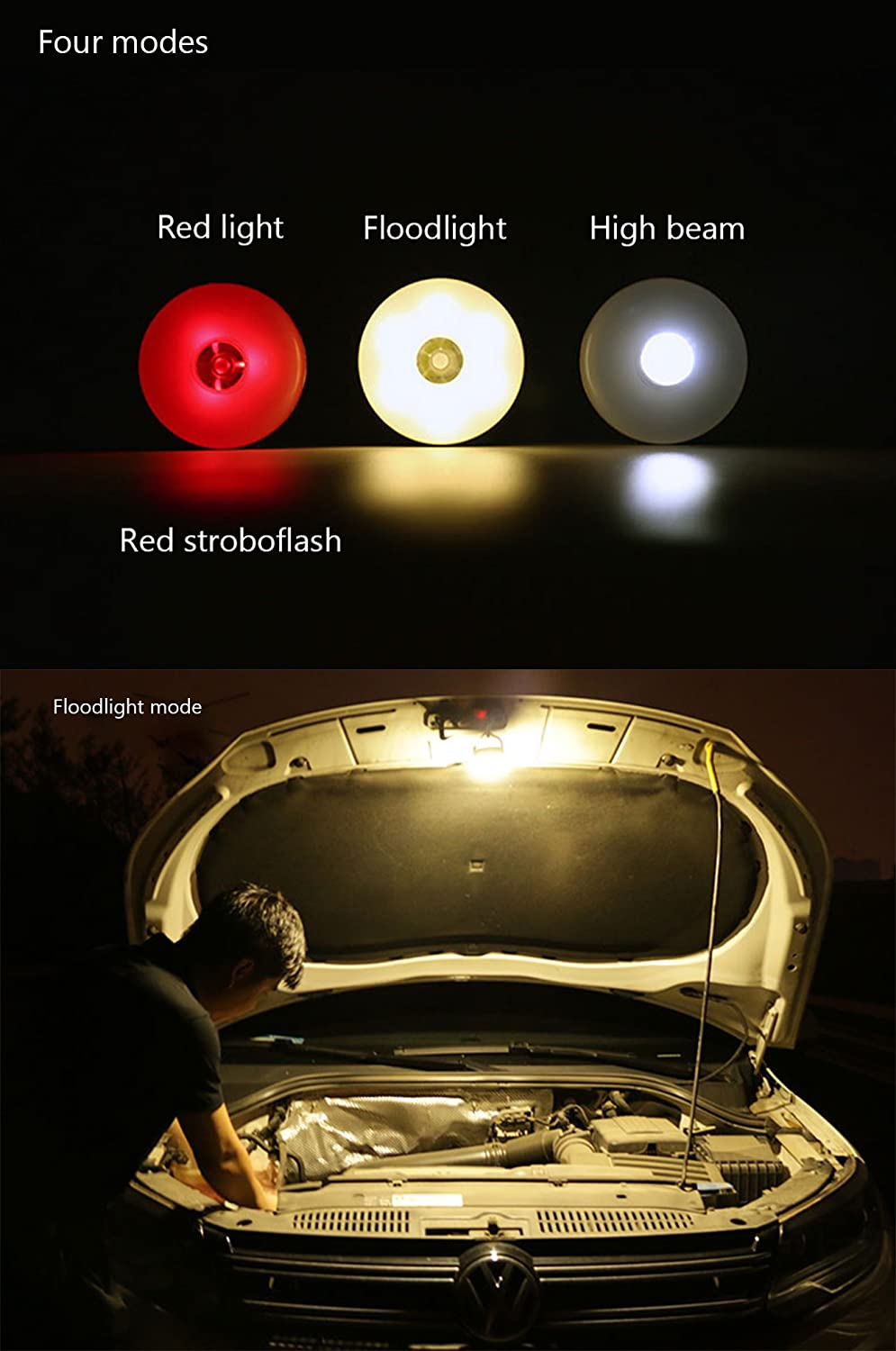 Ultra Bright Tent Lamp For Indoor and Outdoor Camping Hiking Fishing 4 Modes LED Camping Lantern Portable LED Tent Light